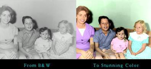 colorize those black and white pictures